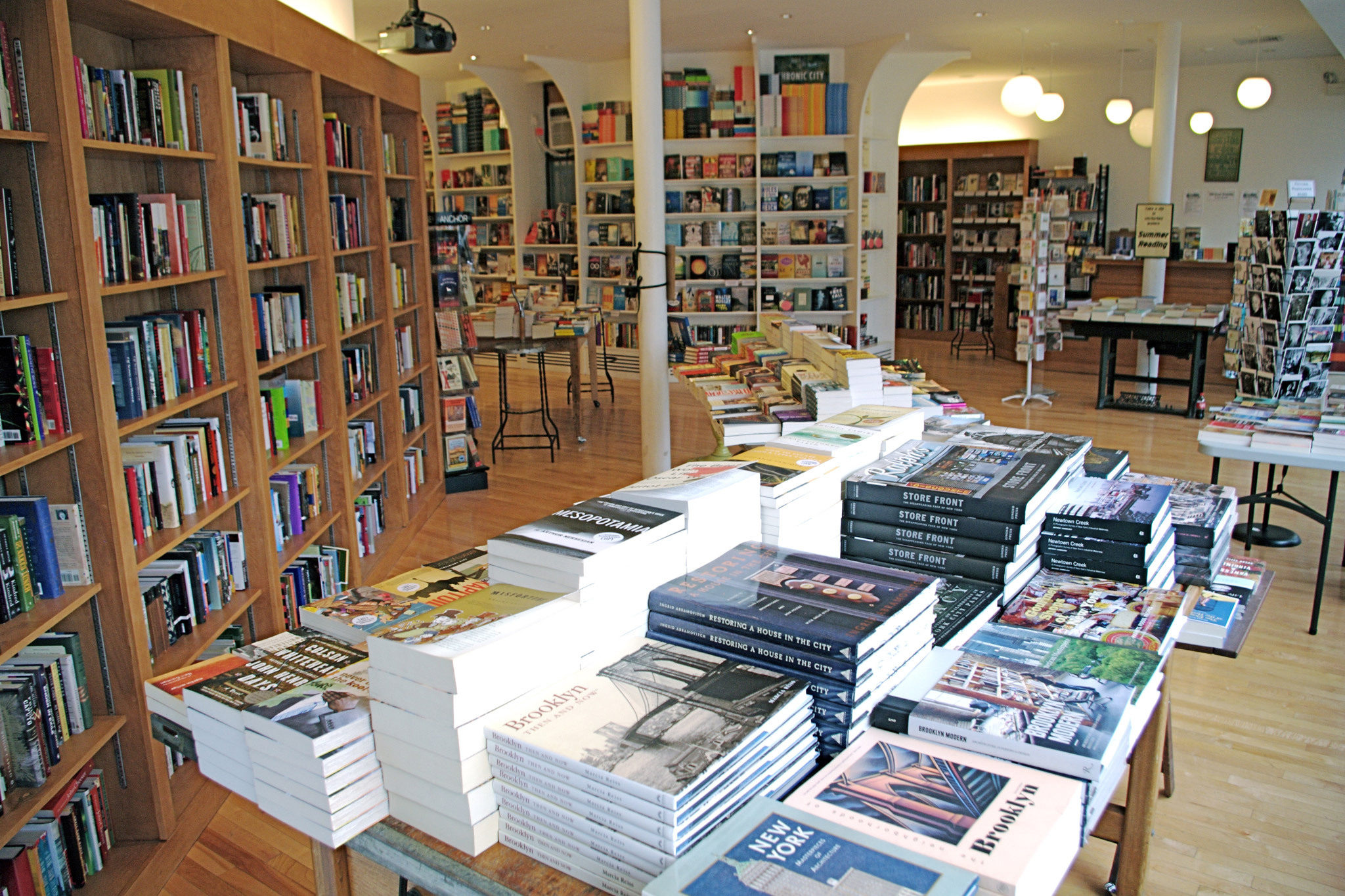 Because the city is in the throes of an independent-bookstore renaissance