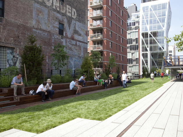 Because other cities often copy projects that started or were perfected here—look at the High Line