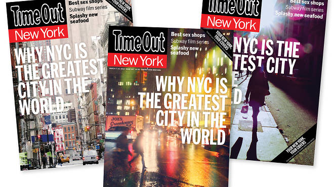 Time Out's covers this week feature photos from our Share Your Now contest.