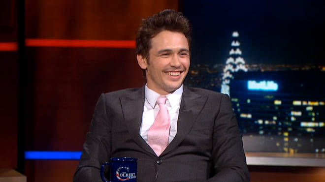 James Franco on The Colbert Report