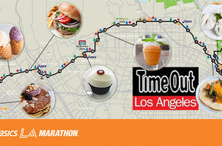la marathon, where to eat, los angeles