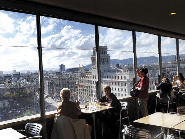 Cafeteria El Corte Inglés