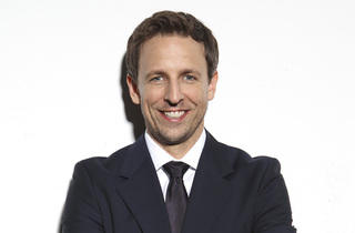 Seth Meyers in conversation with Bill Carter