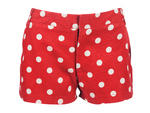 Shelly LeSun Dot-chess polka-dot shorts, $89, at New York Look