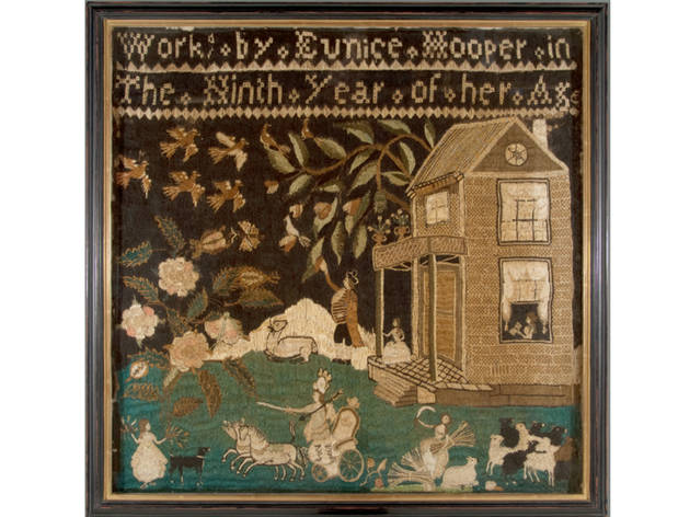 Useful Hours: Needlework and Painted Textiles from Southern California Collections