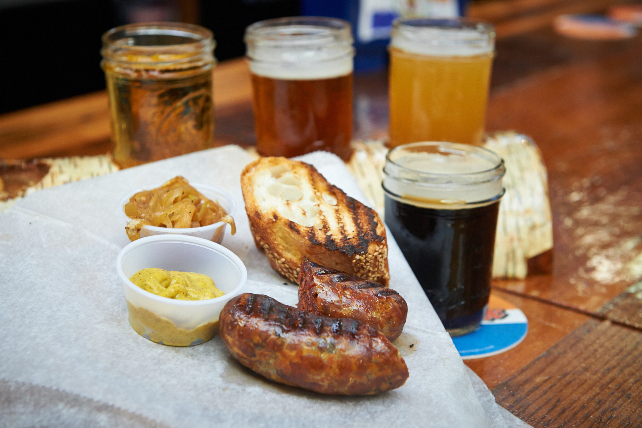 P Liver Sausage At The Bronx Beer