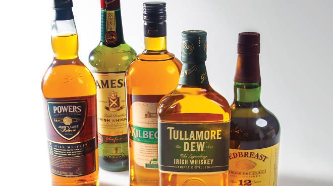 Ten best irish whiskey bottles top picks for st patrick for Most popular whiskey drinks