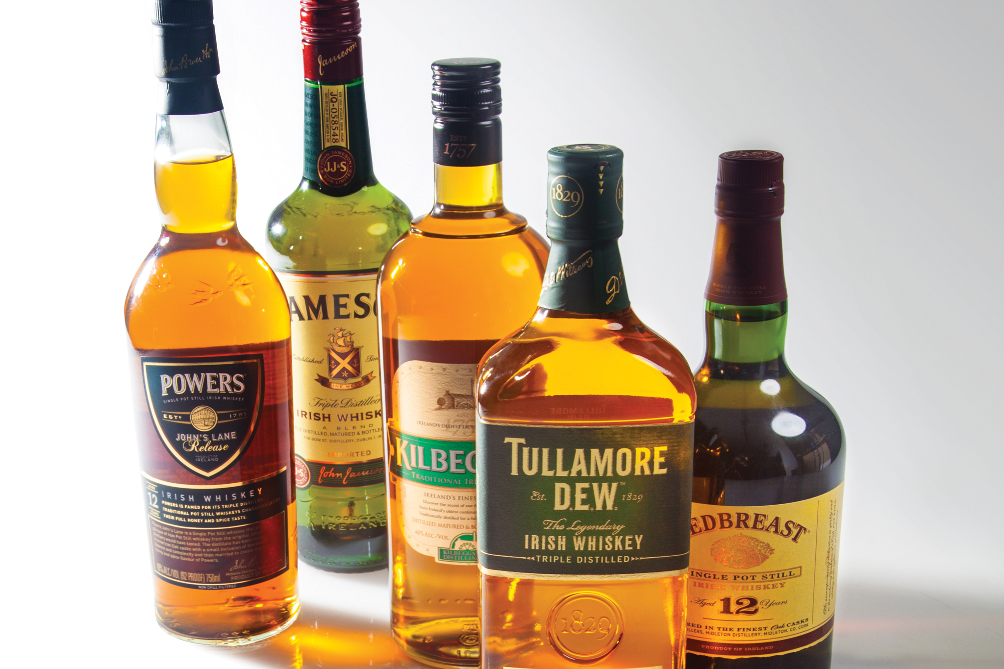 The 10 best Irish whiskey bottles