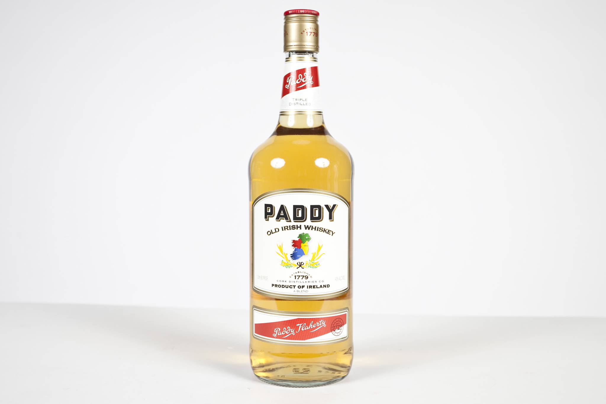 "Paddy Irish Whiskey""Ireland is a little weird, possessing its own way of doing things, which is certainly not the Scotch way,"" explains Wondrich, describing Paddy Irish's unique makeup. Providing a fruity, sweet finish is an atypical mix of three types o"