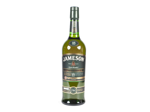 "Jameson 18For a splurge, Wondrich proposes the Jameson 18—""just discussing it makes me thirsty."" The triple-distilled spirit is matured in both American bourbon barrels and European oak casks, instilling complex flavors of toffee, spice and leather, alon"