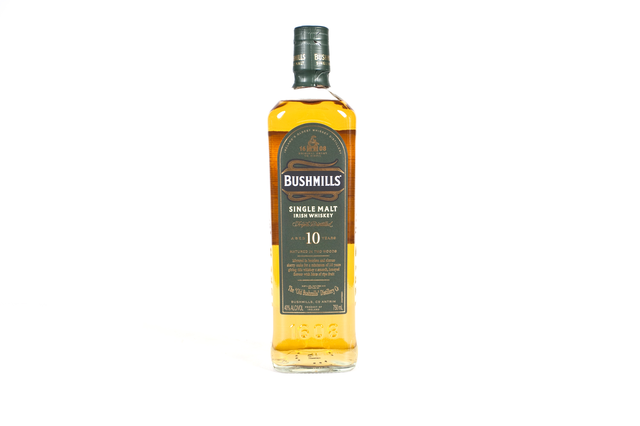 Bushmills 10-year single-malt