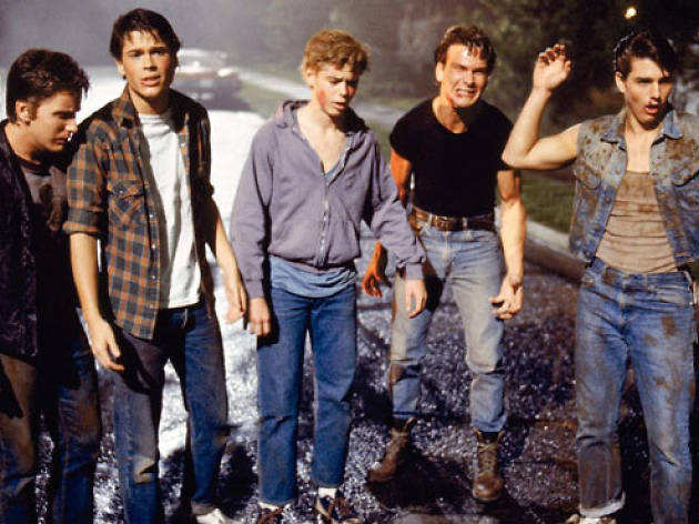 Youth-gone-wild movies: The Outsiders (1983)