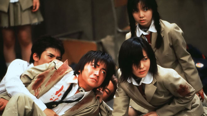 Youth-gone-wild movies: Battle Royale (2000)