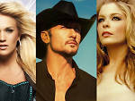 Carrie Underwood, Tim McGraw, Leann Rimes