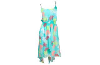 Lane Bryant floral high-low dress, $80