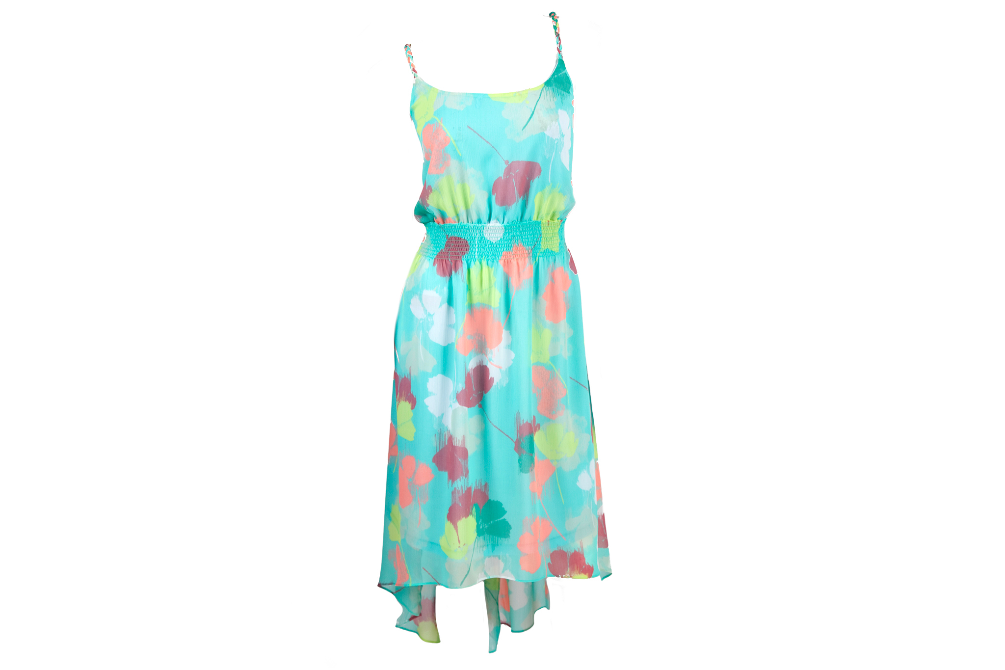 Lane Bryant floral high-low dress, $80