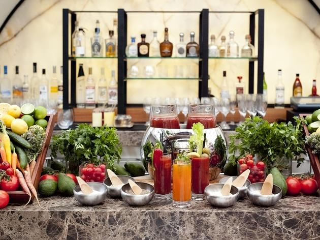 Bloody Mary Bar.