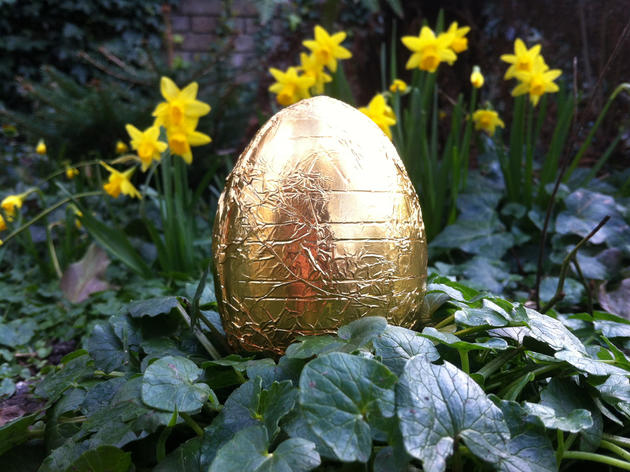 Easter egg hunts in London