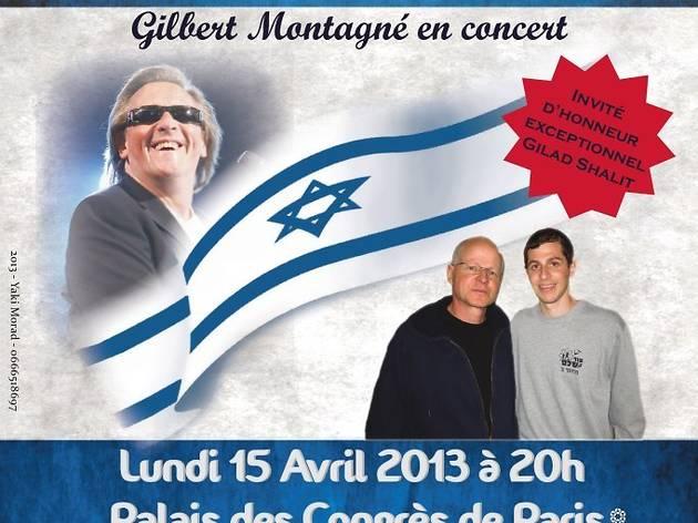 Gilbert Montagné : Israël 65 ans