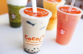 Coco Fruit Tea & Juice (Photograph: Jakob N. Layman)