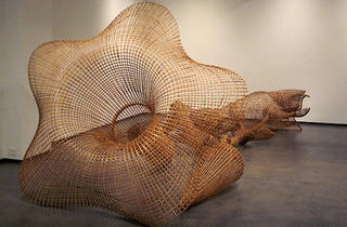 """Cambodian Rattan: The Sculptures of Sopheap Pich"""