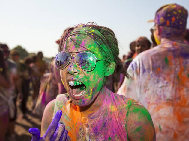 Festival of Colors (Photograph: Jakob N. Layman)