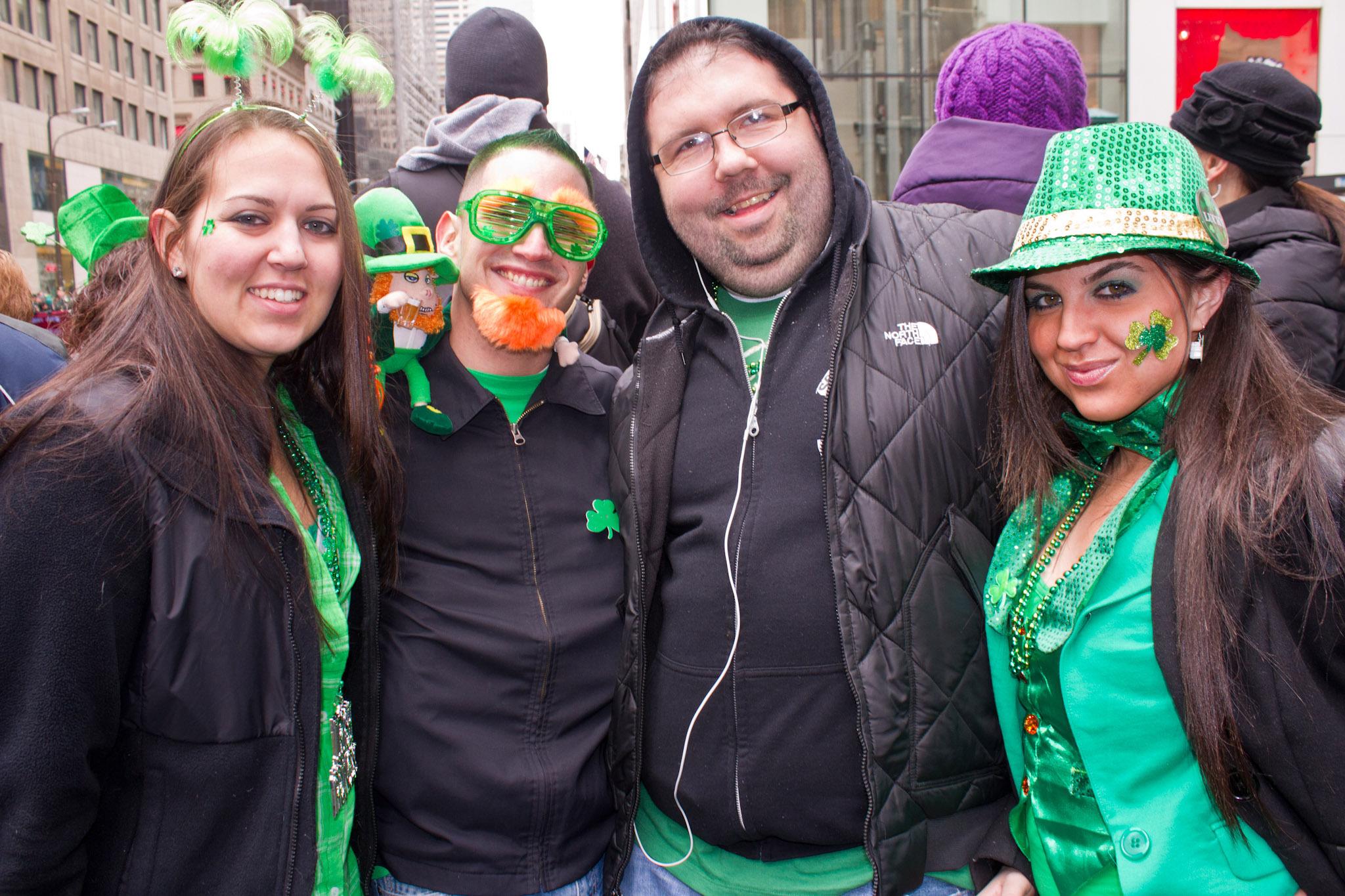 St. Patrick's Day in Irish New York