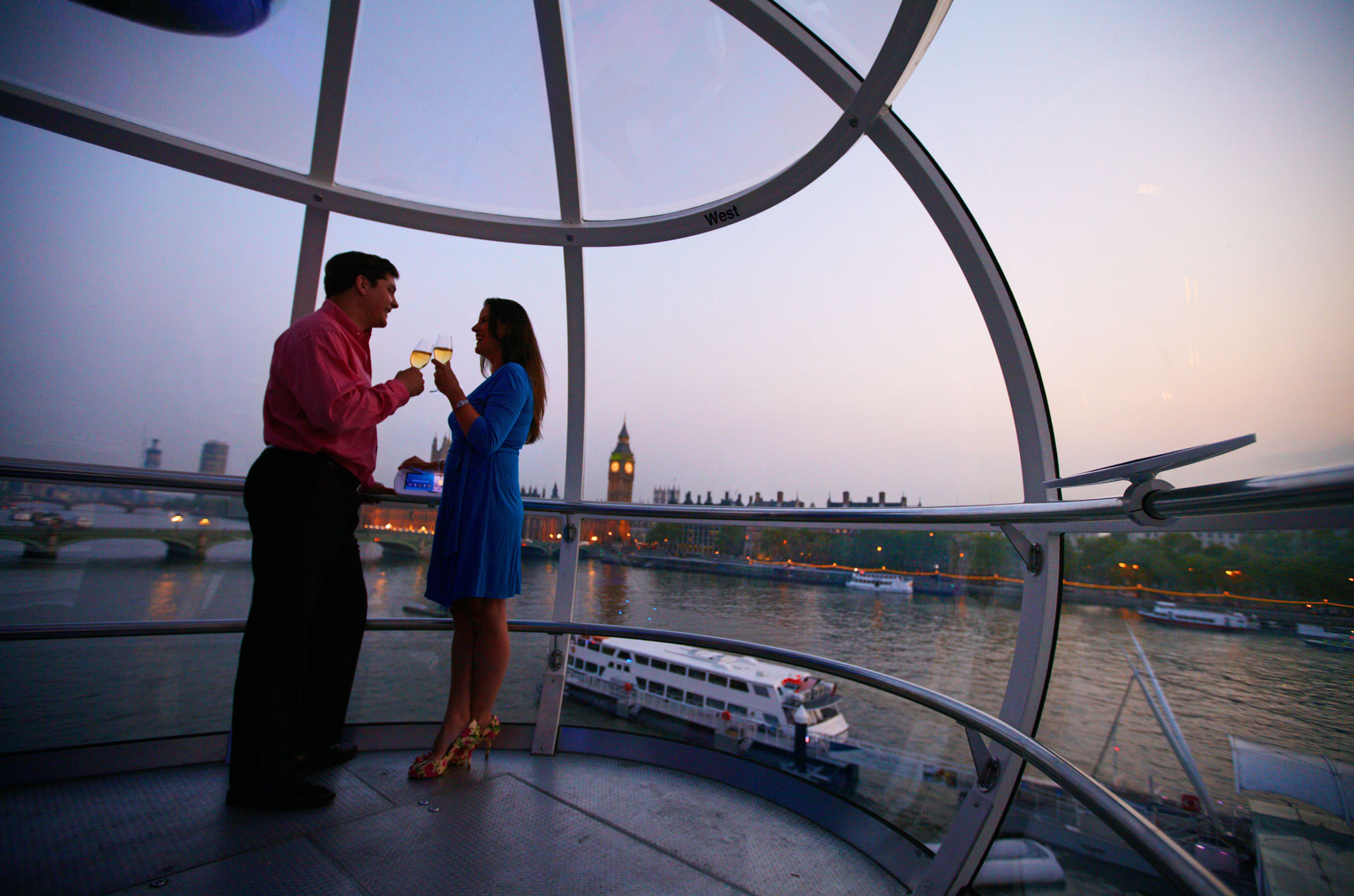 The London Eye Cupid's Capsule