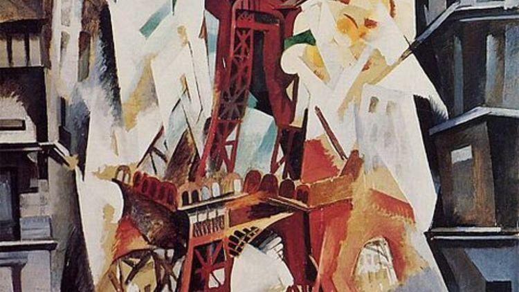 Robert Delaunay, Tour Eiffel, 1911