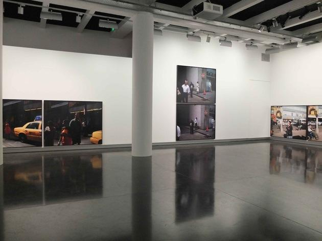 Le BAL (vue de l'exposition de Paul Graham, 2012)