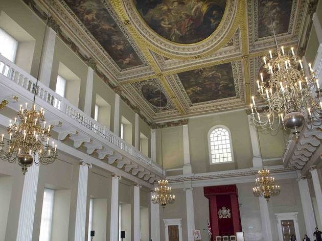 Banqueting House interior (© Historic Royal Palaces)