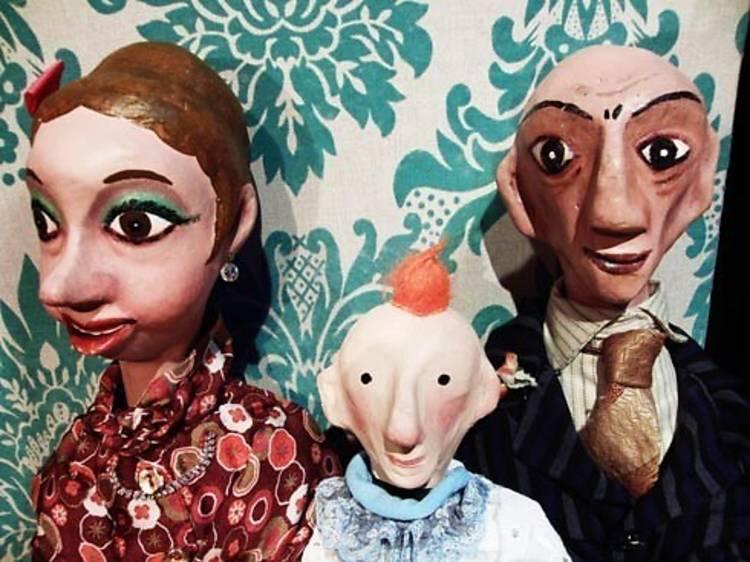 Ver los espectáculos de marionetas de La Puntual