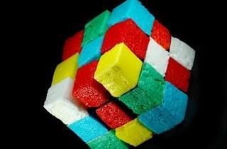 Rubik's Cube d'œuf (© FIPC 2012 - Guillaume Barclay)