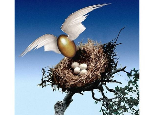 Golden nest (© FIPC 2012 - Ryszard Horowitz)