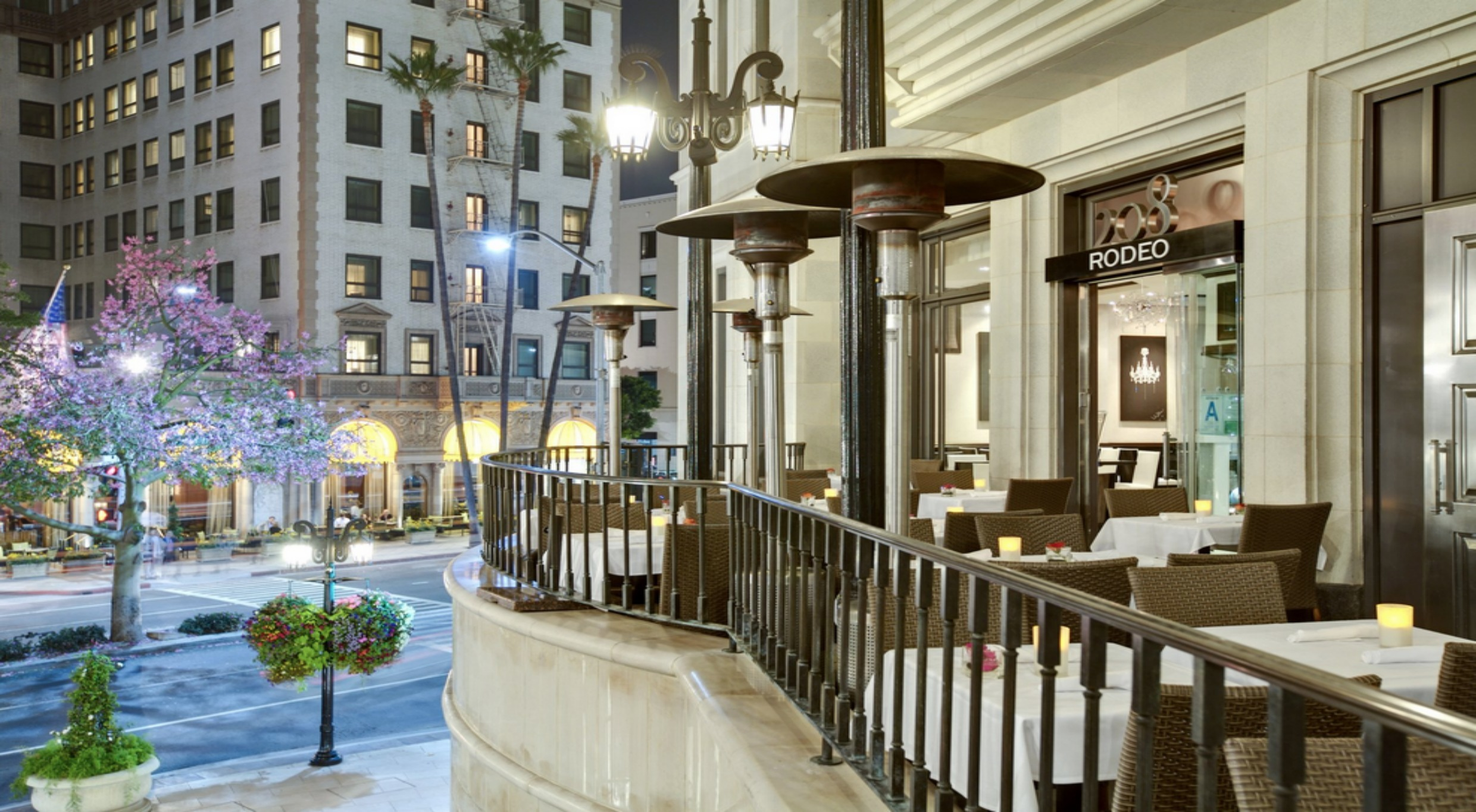 208 Rodeo Restaurants In Beverly Hills Los Angeles