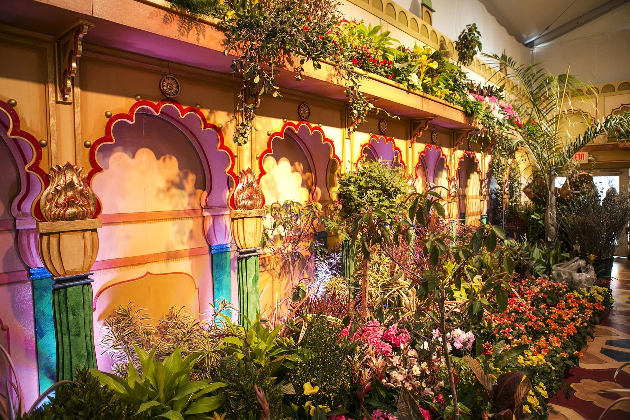 The Macy's Flower Show in NYC