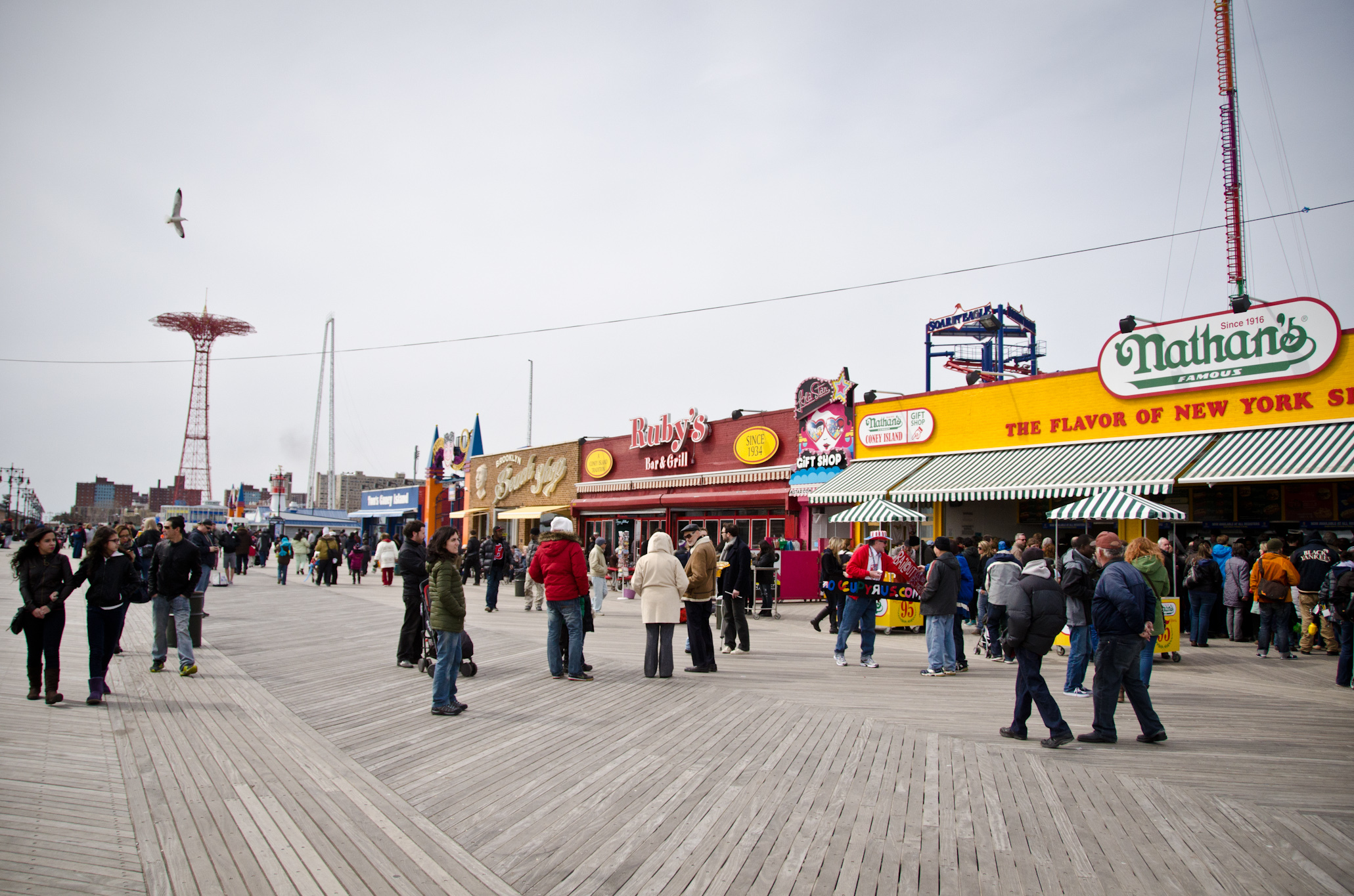 Welcome Big Mark and his Action Park to the Coney Island boardwalk