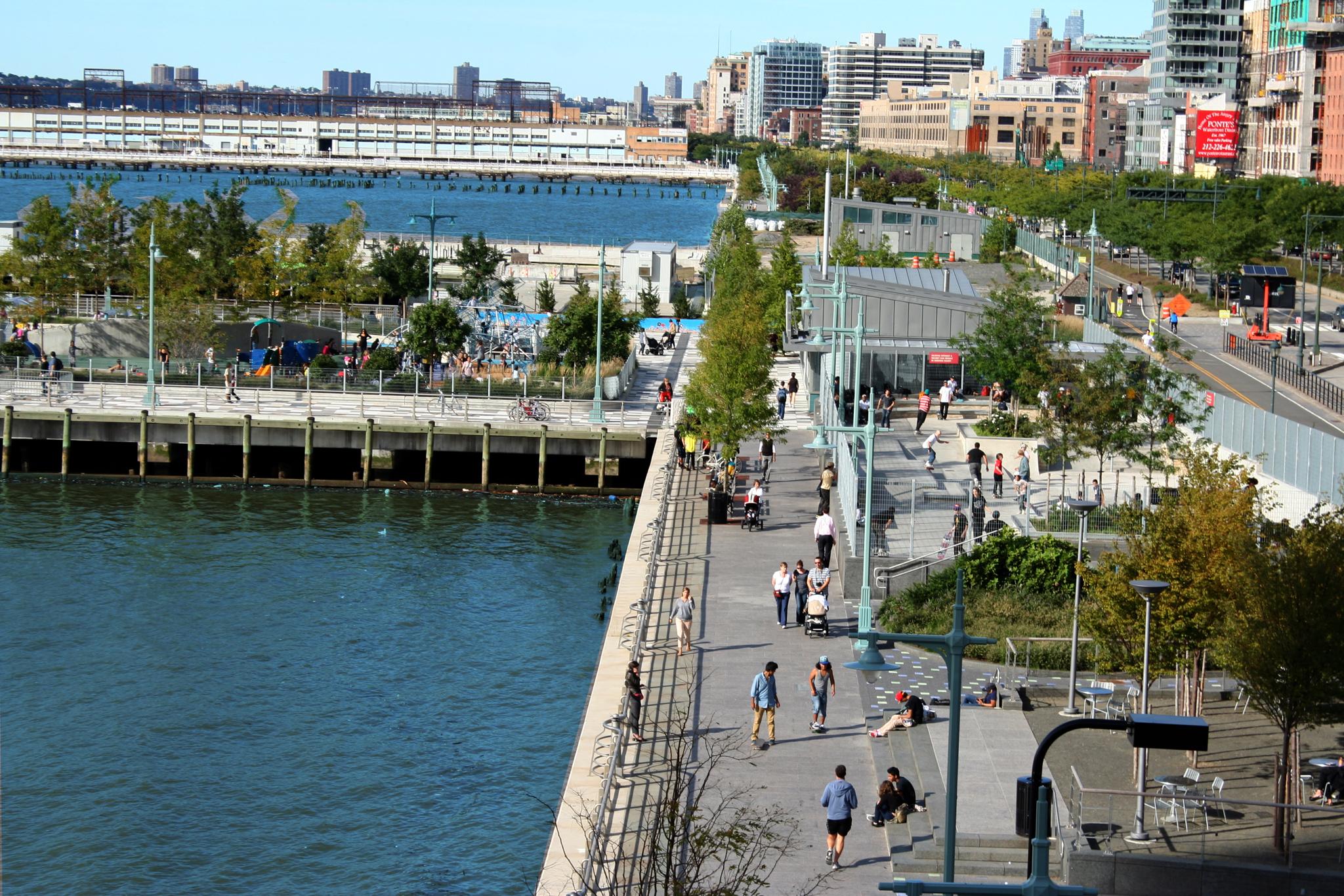 Hudson River Park at Pier 25