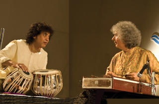 Pandit Shivkumar Sharma and Zakir Hussain