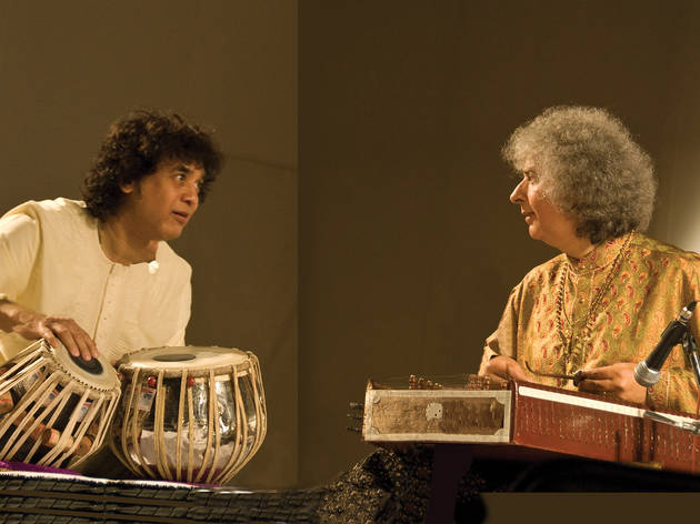 Pandit Shivkumar Sharma and Zakir Hussain