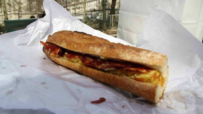 sandwich cheZaline paris