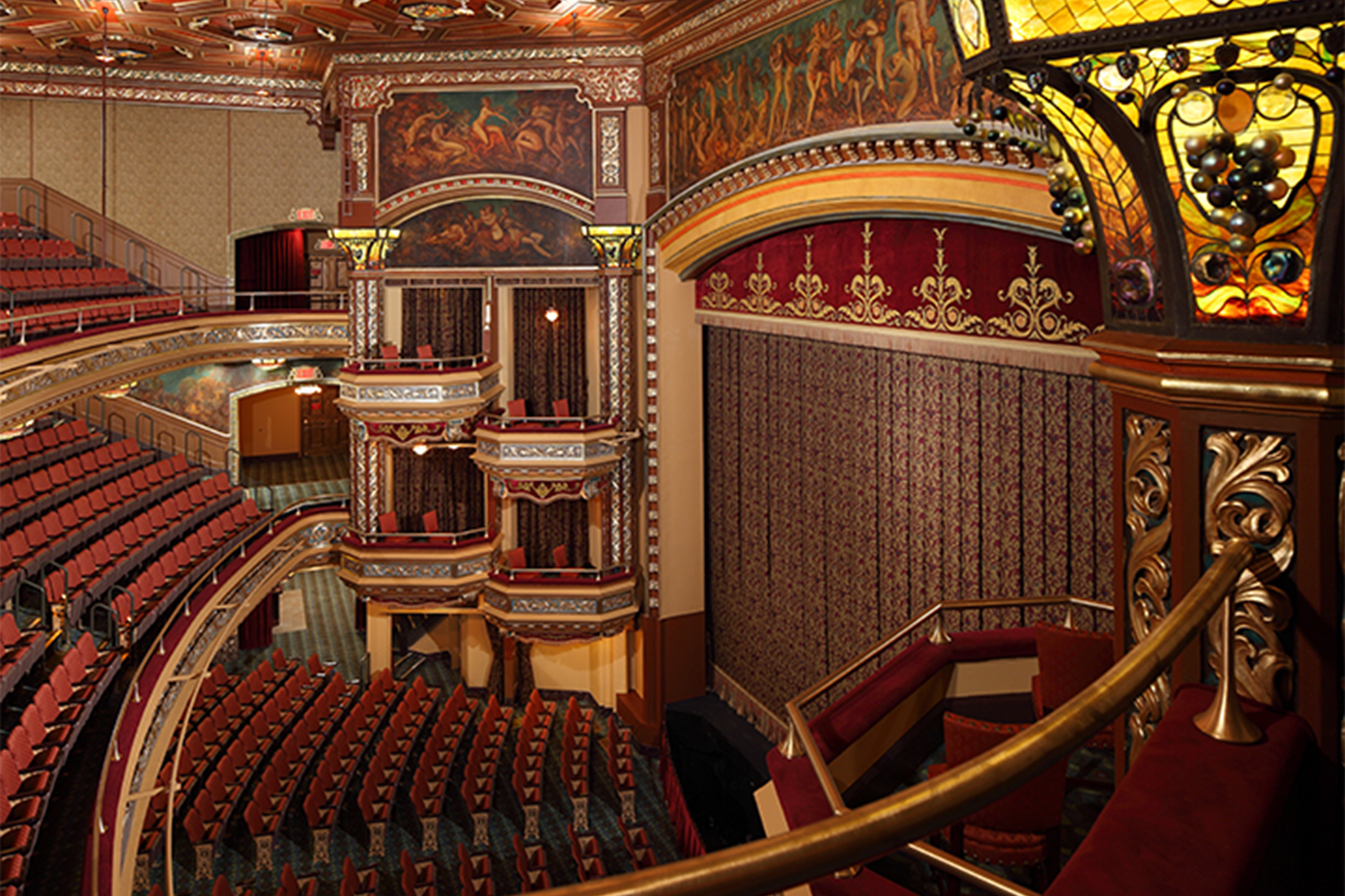 theater in new york belasco theatre renovation slide show