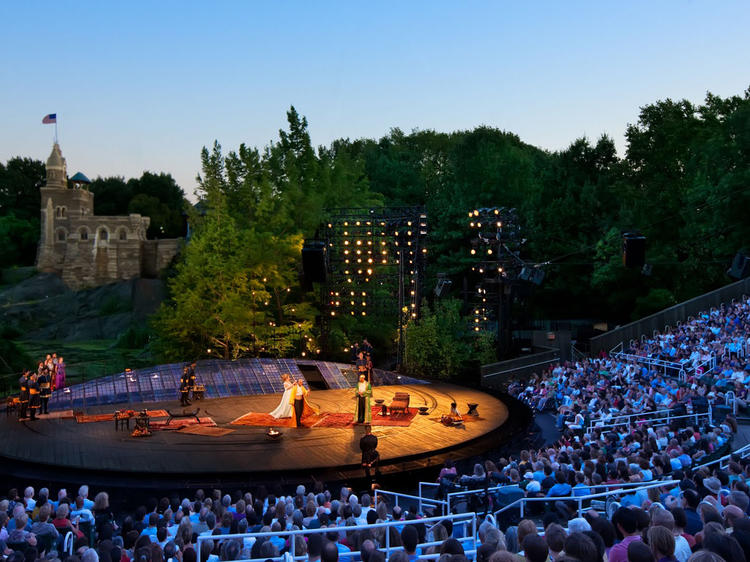 See a Shakespeare play in the open-air