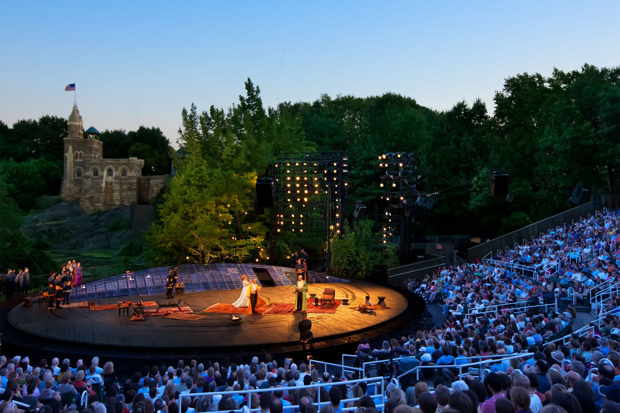 Shakespeare in the Park in NYC