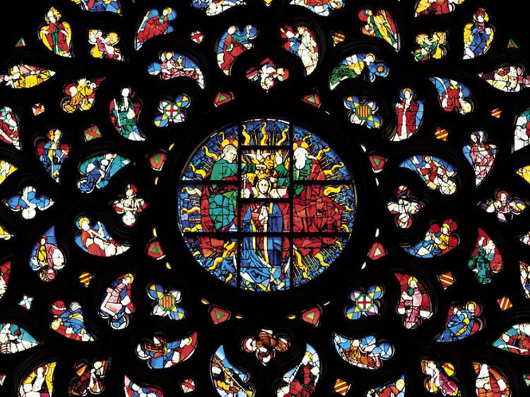 Los vitrales de Santa Maria del Mar