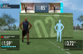 Kinect workout