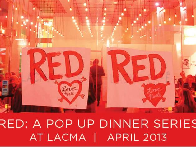 RED Pop-Up Dinner Series