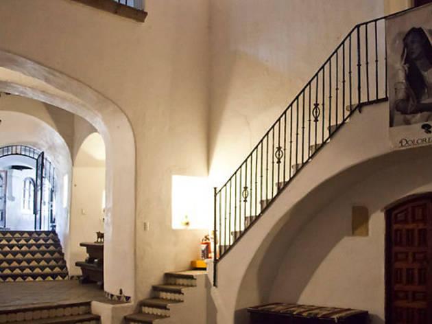 "La escalera de ""la Doña"" (Foto: Alejandra Carbajal)"