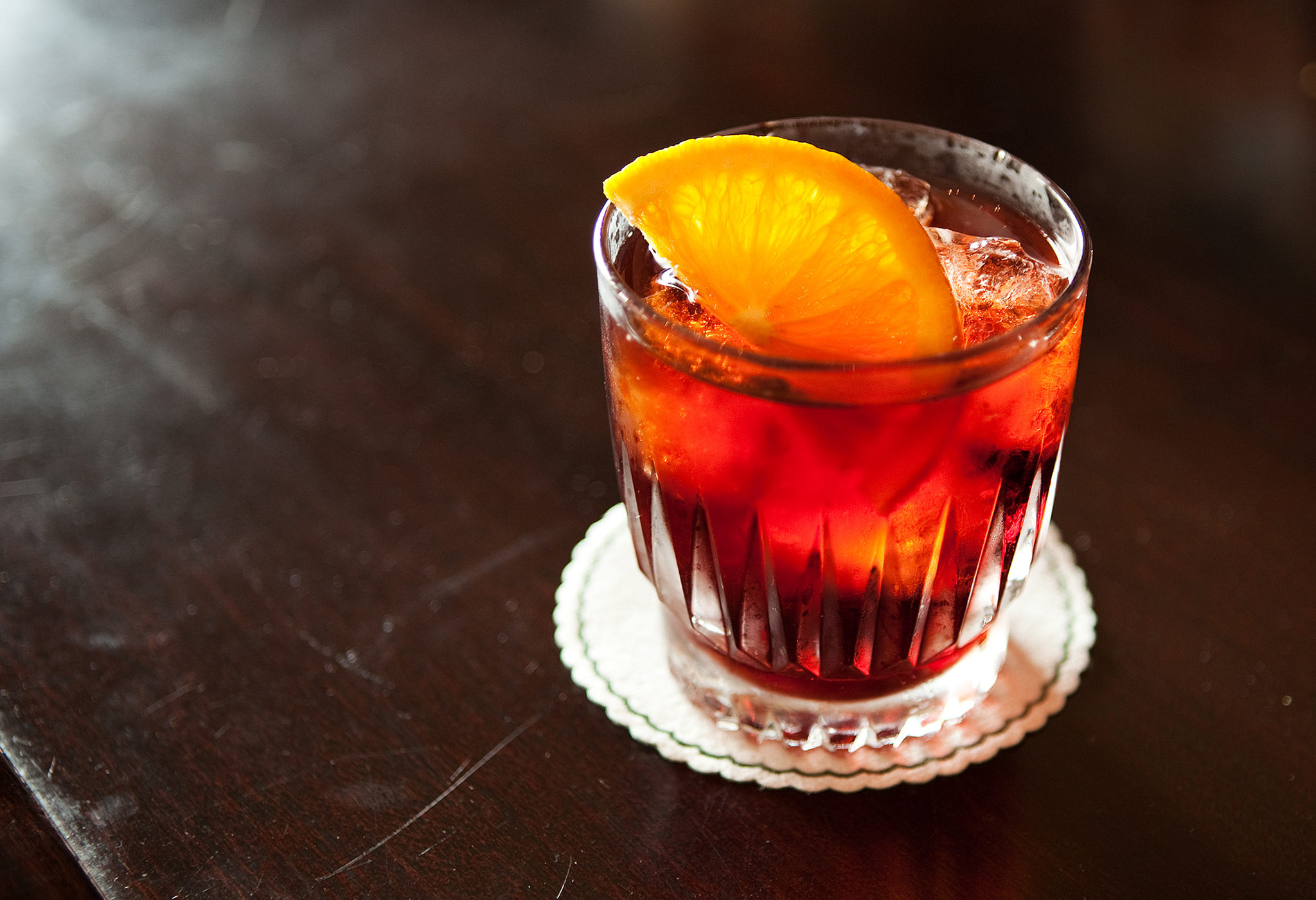 Negroni at The Black Cat