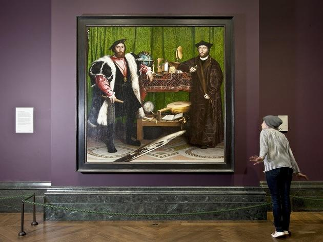 'The Ambassadors' at The National Gallery